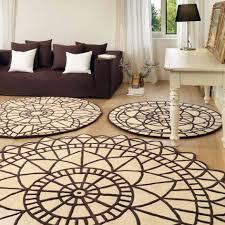 tappeto grande moderno tappeto rotondo con profilo sagomato portofino arredaclick