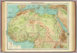 Map Of North Africa by Northern Africa David Rumsey Historical Map Collection