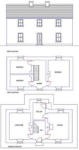 Home Design And Floor Plans Caragh Traditional Irish Cottage House Plans Ground Floor Plan