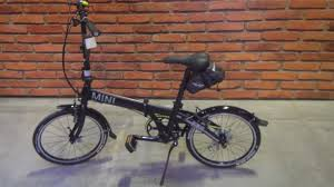 bmw folding bicycle mini folding bike black 2016 exterior and interior in 3d youtube
