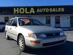 toyota corolla sedan 1993 1993 toyota corolla for sale carsforsale com