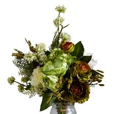 Faux Flower Arrangements How To Faux Flower The Stylish Way Interiors Decorating Ideas