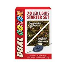 national tree company 70 bulb dual color led light string starter