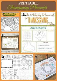 thanksgiving activity printables thanksgiving table