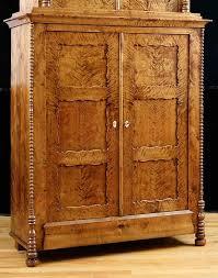 Antique German Display Cabinet Antique North German Biedermeier Cabinet In Fire Birch Circa 1835
