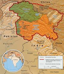 What Is A Physical Map Atlas Of Jammu And Kashmir Wikimedia Commons