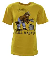 amazon com gap men u0027s smokey bear grill master authentic