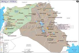 download map iraq syria major tourist attractions maps