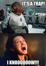 Funny Meme Games - meme battle star wars vs game of thrones admiral ackbar
