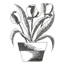 black floral sketch u2013 magic stock art