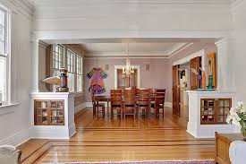 bungalow style homes interior mission style millwork in bungalow style home new orleans custom