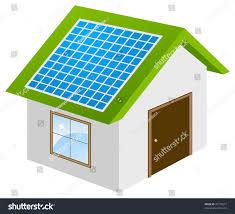 solar panels clipart eco house clipart clipartxtras
