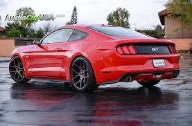 Red Mustang Black Wheels 2016 Ford Mustang Gt 5 0 20