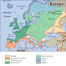 map of europe scandinavia why is the population of scandinavia so low compared to germany