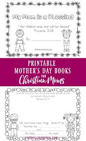 printable mother u0027s day book for christian moms