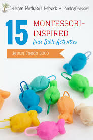 montessori inspired kids bible activities jesus feeds 5 000