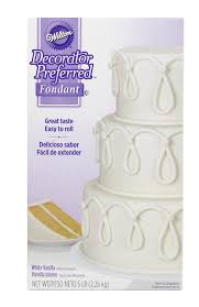 How To Become A Cake Decorator From Home by Amazon Com Wilton 710 2300 Decorator Preferred Fondant 5 Pound