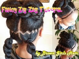 Little Girls Ponytail Hairstyles by Fancy Zig Zag Ponytails Tutorial Youtube