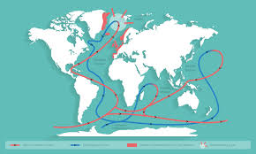 Gulf Stream Map Ocean Circulation Surfrider Ocean Campus