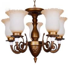 asian 3 light glass shade candle shaped small kitchen chandeliers