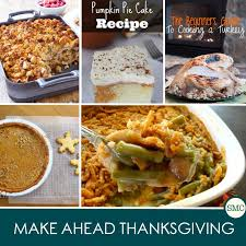 make ahead thanksgiving menu ideas to save you time on the day