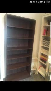 Tall Dark Wood Bookcase Tall Bookcase Second Hand Household Furniture Buy And Sell In