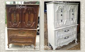 Annie Sloan Bedroom Furniture Chest Painted In Pale Grey Farm Fresh Vintage Finds