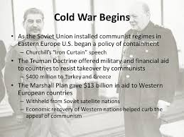Significance Of Iron Curtain Speech Occupations Japan Under U S Command For 7 Years U2013 Macarthur