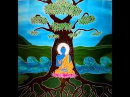 buddha and the bodhi tree