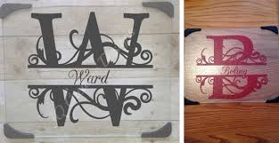 monogramed cutting boards personalized glass cutting boards