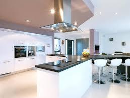 cuisine ouverte ilot central ralisaition cuisine moderne harmonie cuisine ouverte ilot central