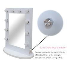 vanity hollywood makeup mirror with lights cosmetic light bulbs