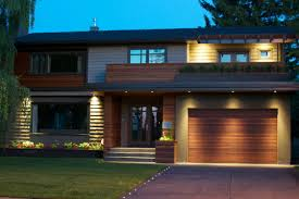 Lights In Soffit Outside by Beautiful Red Balau Batu Siding Adds A Nice Accent Located In