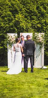wedding backdrop vancouver ceremony reception