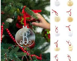 Blank Ornaments To Personalize Custom Silhouette Ornament