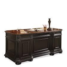 amazon com riverside furniture allegro executive desk in rubbed