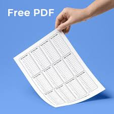 Times Tables 1 12 Free Resources U2013 Stewartwiggins