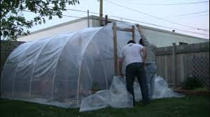 Backyard Greenhouse Diy Part Ii Building Our Backyard Greenhouse Youtube