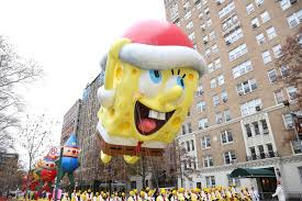 spongebob to soar at the 90th macy s thanksgiving day parade the