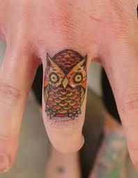 17 fascinating small owl finger tattoo designs u0026 ideas picsmine
