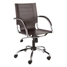 Computer Chairs Without Wheels Design Ideas Alluring Leather Desk Chair With Wheels Leather Office Chairs No