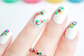 rainbow drops drag marble nail art tutorial