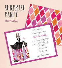 birthday party invitations printswell