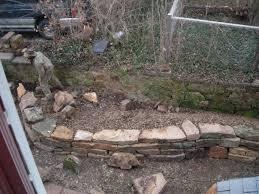 Garden Rock Wall by Garden Nunkprotunk Or Now As Then