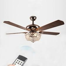 52 Ceiling Fan With Light American Country Style Led Lights Fan Chandelier With