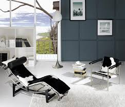Chaise Lounge Chairs For Living Room Use The Le Corbusier Chaise Lounge Chair Decorate Living Room News
