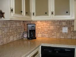 Stone Backsplash Kitchen by Stone Kitchen Backsplash Granite Bianco Calacatta Marble Look