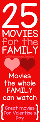 25 feel good movies for the family while he was napping
