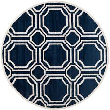 Indoor Outdoor Round Rugs by Rug Amt411p Amherst Area Rugs By Safavieh