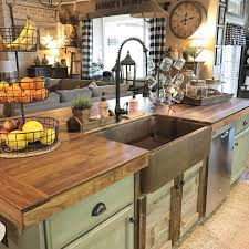 8 beautiful rustic country farmhouse decor ideas kitchen country